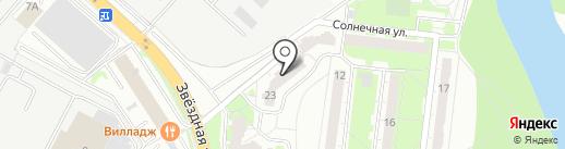 Прас, ГК на карте Балашихи