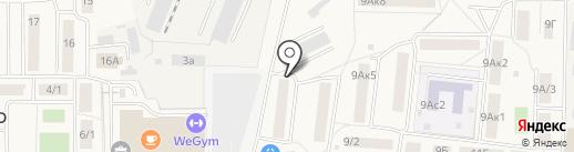 Элен на карте Томилино