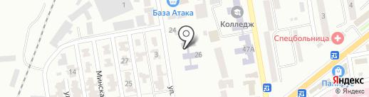 Гимназия, г. Макеевка на карте Макеевки