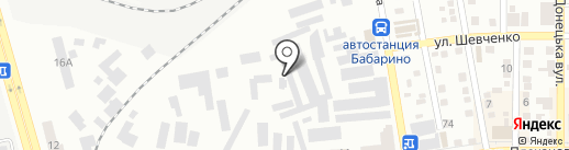 Saturn на карте Макеевки