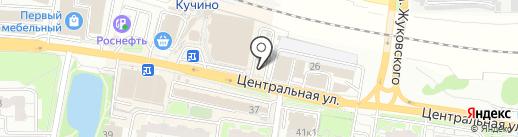Киоск бытовых услуг на карте Балашихи
