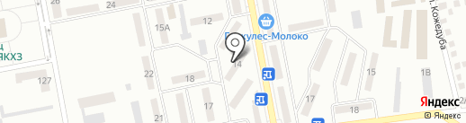 Многопрофильный магазин на ул. Химик квартал на карте Макеевки