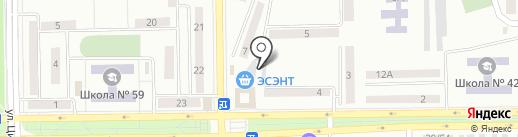 Эсэнт на карте Макеевки