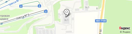 НТ Сервис на карте Балашихи