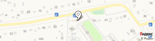 Ильинский храм на карте Ильинского