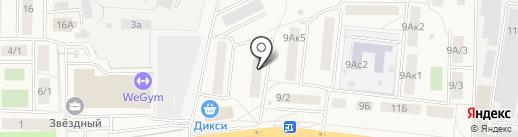Мастерская по изготовлению ключей на ул. Гаршина на карте Томилино