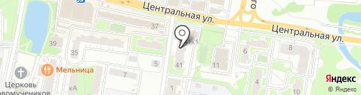 T & A на карте Балашихи