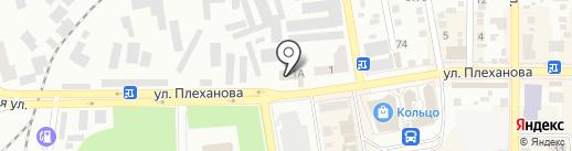 Ателье по ремонту одежды на карте Макеевки