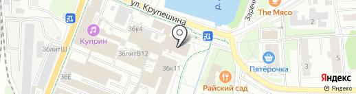 Milavitsa на карте Балашихи