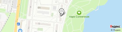 ИНЖЕНЕРНЫЙ ЦЕНТР ПОЖАРНОЙ И ПРОМЫШЛЕННОЙ БЕЗОПАСНОСТИ на карте Балашихи