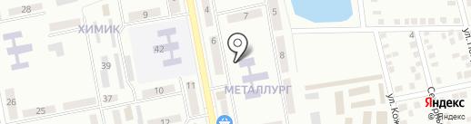 Управление труда и социальной защиты населения администрации г. Донецка на карте Макеевки