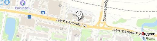Олимп красоты на карте Балашихи
