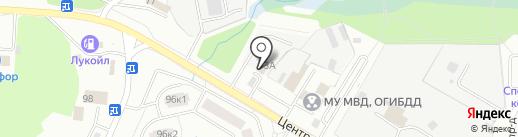 ВОС на карте Щёлково