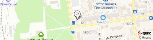 Чистый Дом на карте Макеевки
