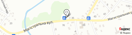 Юг на карте Макеевки