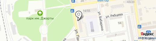 Донбассавтолюкс Сервис на карте Макеевки