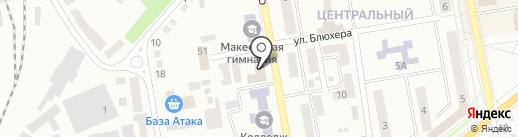 Велюр, кафе на карте Макеевки