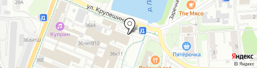 Люкс инжиниринг групп на карте Балашихи