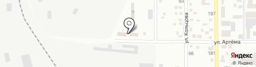 Донбассгаз, ГК на карте Макеевки