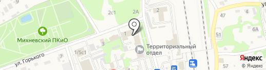 Банк Возрождение на карте Михнево
