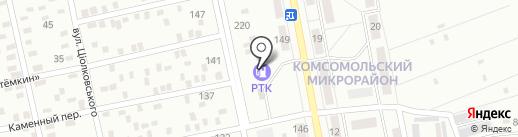 Параллель на карте Макеевки