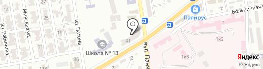 Шефиня на карте Макеевки