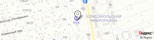 АЗС Параллель на карте Макеевки