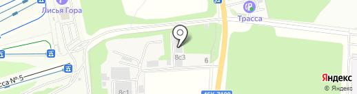Торговый Дом Велес на карте Балашихи