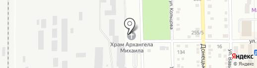 Храм Архистратига Михаила на карте Макеевки