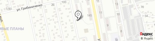 Автостоянка на ул. Парижской Коммуны на карте Макеевки