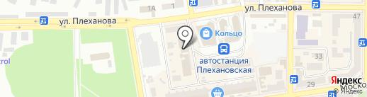 Вест, МЧП на карте Макеевки