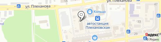 Десятка на карте Макеевки