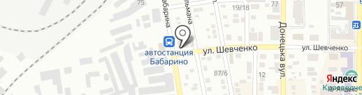 Радиодетали на карте Макеевки