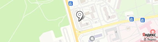 Град-Экс на карте Балашихи