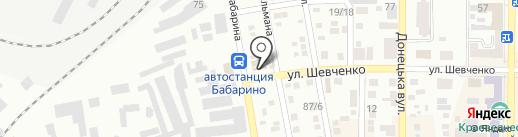 Мастерская по ремонту сумок, СПД Бедняк В.П. на карте Макеевки