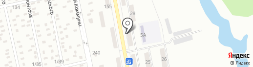 Саквояж на карте Макеевки