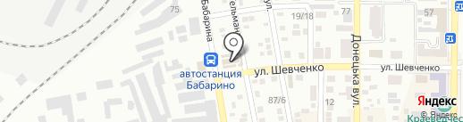 Магазин памятников на карте Макеевки