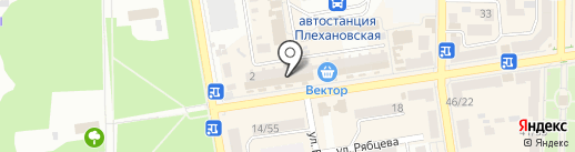 Фокс на карте Макеевки