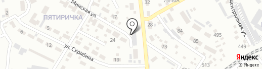Макеевуголь, ГП на карте Макеевки
