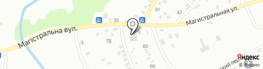 Городской центр украинской культуры им. Леси Украинки на карте Макеевки