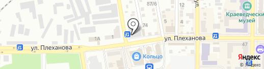 Жар-Птица на карте Макеевки