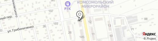 Нотариус Коренев В.Е. на карте Макеевки