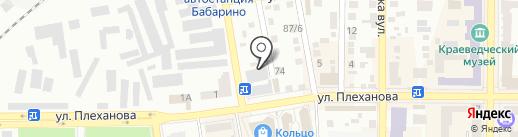 Сластена на карте Макеевки