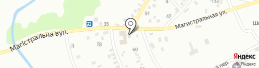 Удача на карте Макеевки
