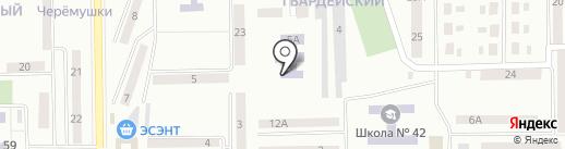 Ясли-сад №2 для детей с нарушением зрения на карте Макеевки