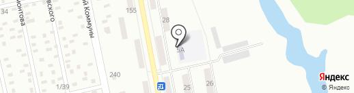 Детский сад №8 на карте Макеевки