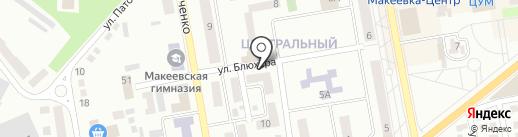 Светлана на карте Макеевки