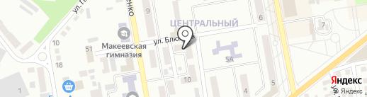 Светлана, салон-парикмахерская на карте Макеевки