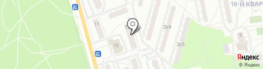 Общежитие на карте Балашихи