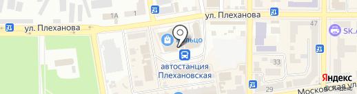 Пирожочек на карте Макеевки